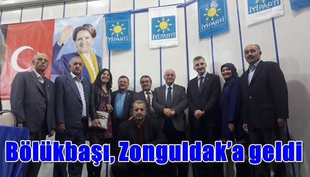Bölükbaşı, Zonguldak'a geldi
