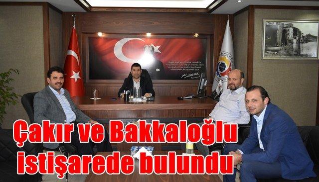 Çakır'dan TSO'ya ziyaret