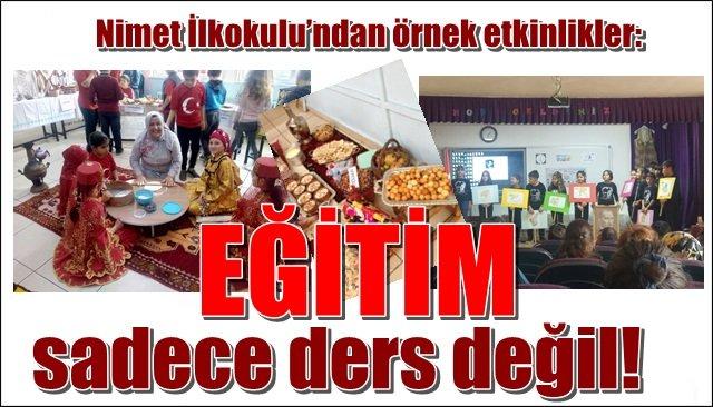 EĞİTİM SADECE DERS DEĞİL!