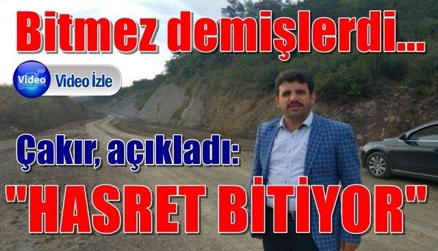 Ereğli-Çaylıoğlu  Yolu´nda asfaltlama çalışmaları başladı