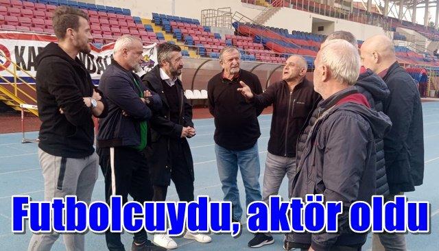 Eski futbolcu Tümer Metin filmde rol aldı