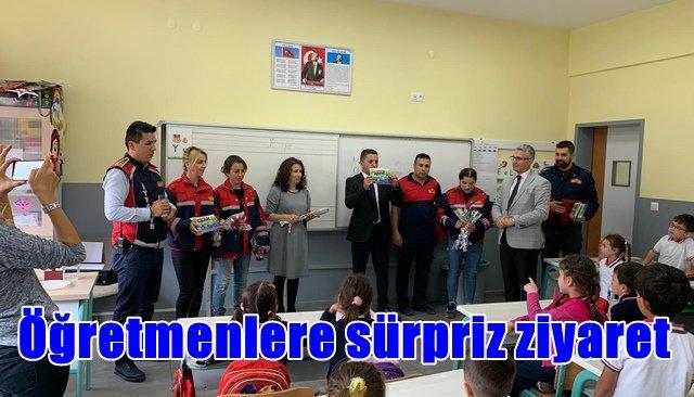 İtfaiyecilerden öğretmenlere sürpriz