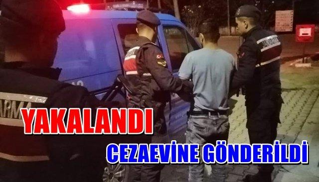 Jandarma ekipleri çeşitli suçlardan aranan zanlıyı yakaladı
