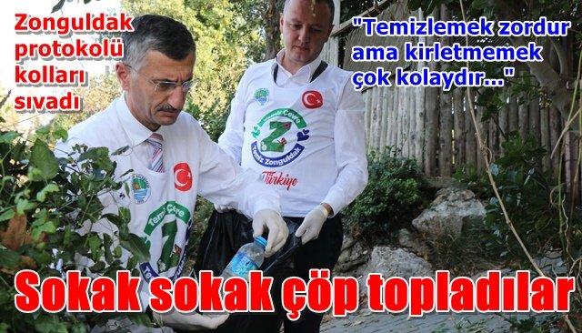 Zonguldak protokolü kolları sıvadı
