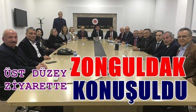 """Zonguldaklılar Derneği'nden """"üst düzey"""" ziyaret"""
