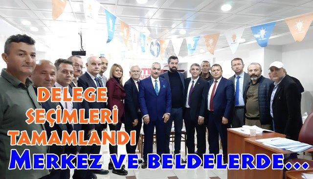 AK Parti'de merkez ve belde delegeleri seçildi