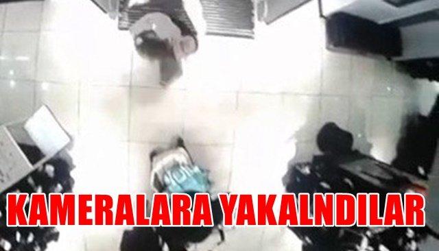 Anne kız hırsızlık yaparken kameralara yakalandı