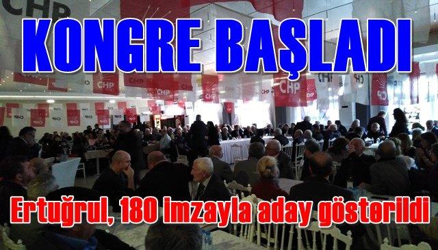 CHP Ereğli İlçe Kongresi başladı