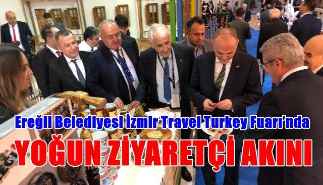 Ereğli Belediyesi İzmir Travel Turkey Fuarı'nda