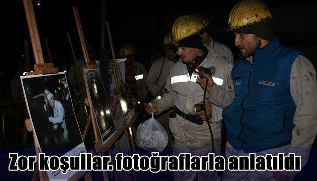 Gazetecilerden ´Dünya Madenciler Günü´nde bir ilk