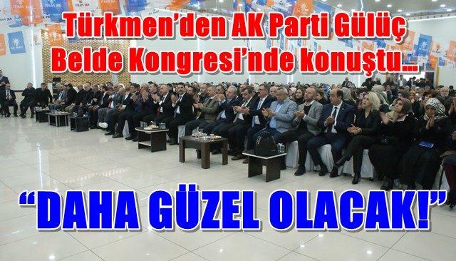 Ak Parti Gülüç Olağan Kongresi yapıldı
