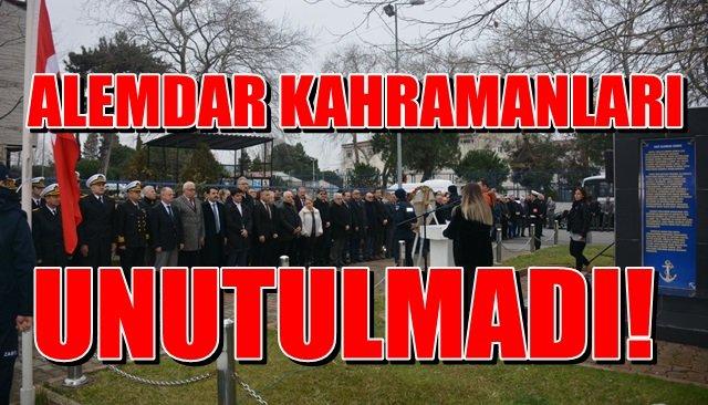 ALEMDAR KAHRAMANLARI UNUTULMADI