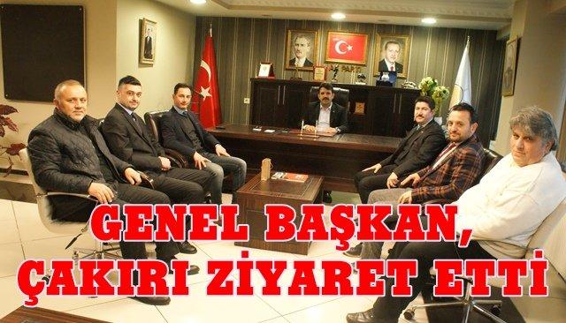 TEKDER Genel Başkanı, Çakır'ı ziyaret etti