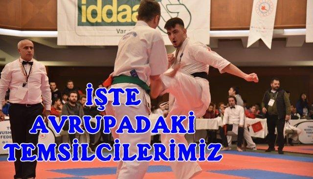 Zonguldak 5 sporcuyla Avrupa Şampiyonasında