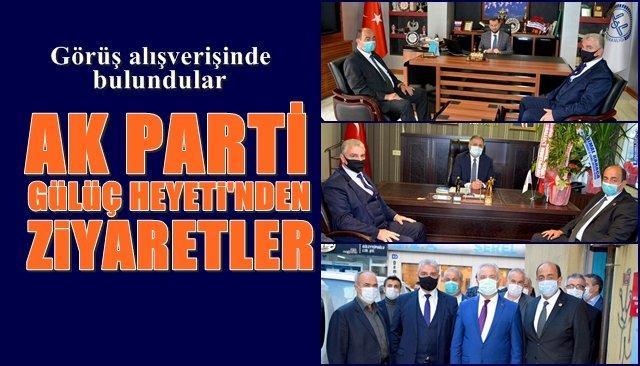 AK Parti Gülüç Heyeti´nden ziyaretler...