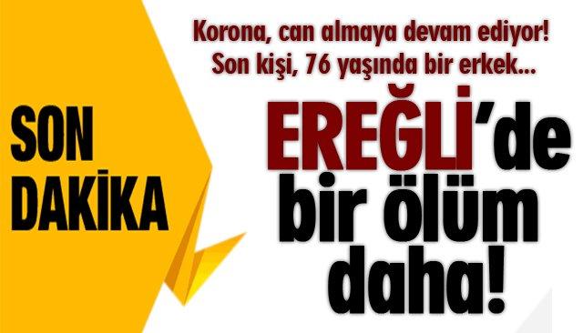 COVİD19, BİR CAN DAHA ALDI!