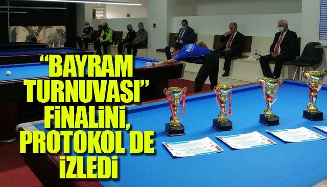 FİNAL MAÇINI PROTOKOL DE İZLEDİ...