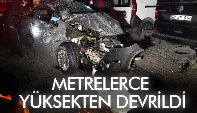 METRELERCE YÜKSEKTEN DEVRİLDİ!