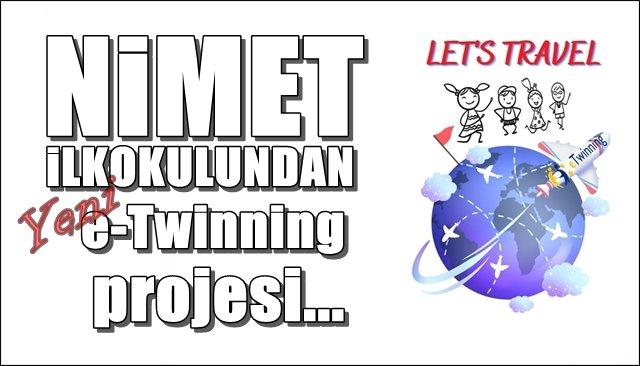 Nimet İlkokulu´ndan yeni e-Twinning projesi...