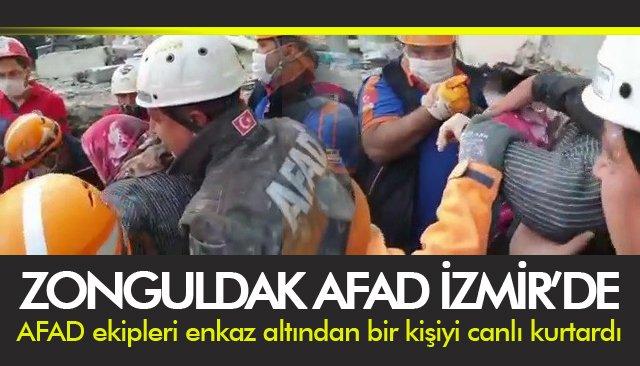 ZONGULDAK AFAD İZMİR'DE
