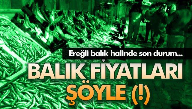 BALIK FİYATLARI ŞÖYLE (!)