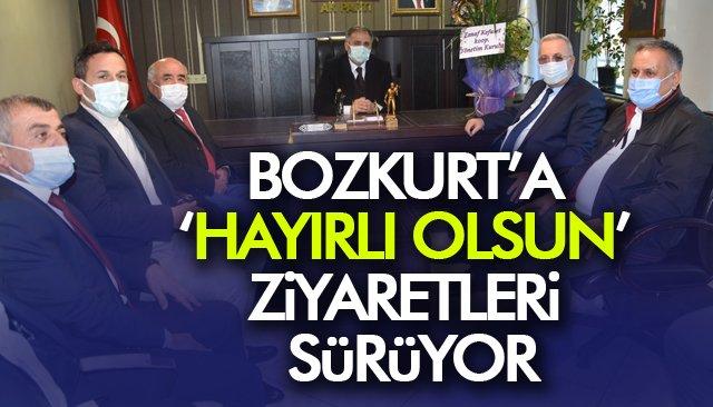 BOZKURT'A 'HAYIRLI OLSUN' ZİYARETLERİ SÜRÜYOR
