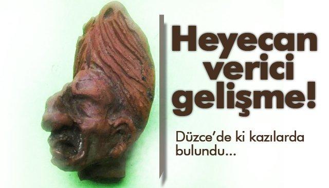 GROTESK FİGÜRÜ BULUNDU