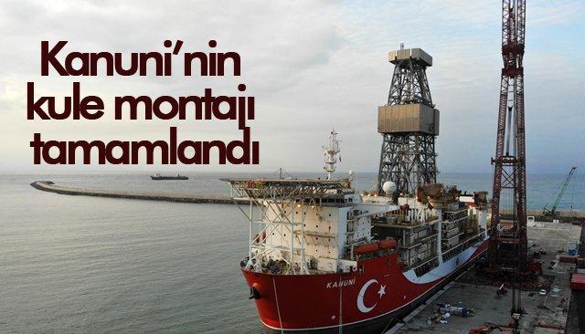 Kanuni'nin kule montajı tamamlandı