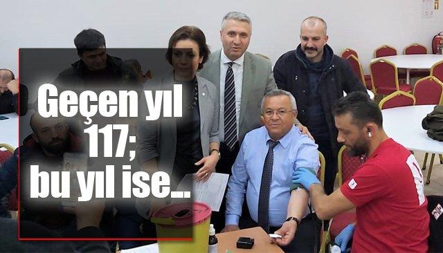 BELDEDE REKOR KIRILDI