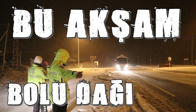 Bolu Dağı kar altında!