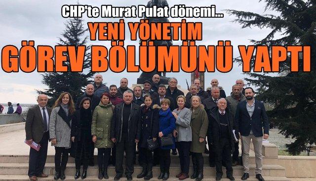 CHP İl Yönetimi şekillendi