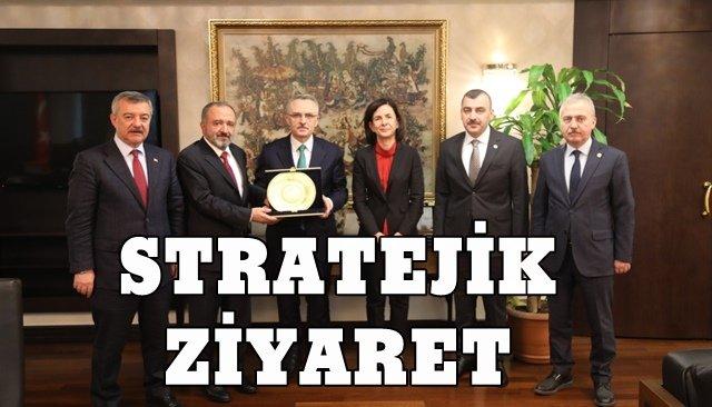 """Çufalı'dan """"stratejik"""" ziyaret"""