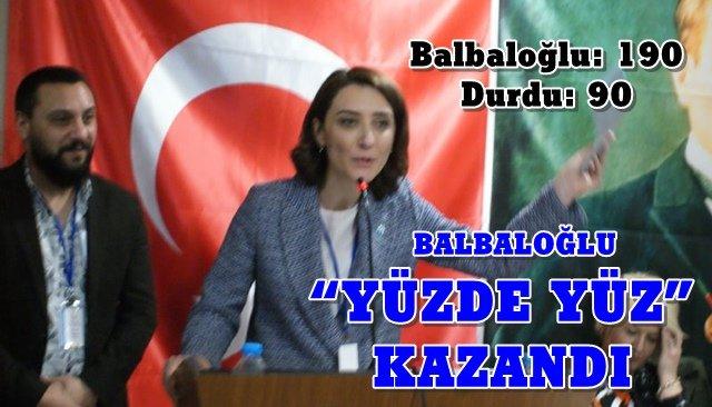 Gerilimli kongrenin kazananı Balbaloğlu oldu