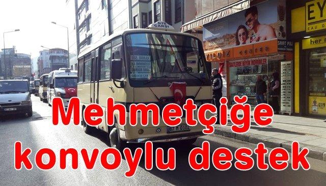 Mehmetçiğe konvoylu destek