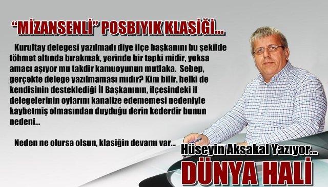 """""""MİZANSENLİ"""" POSBIYIK KLASİĞİ…"""