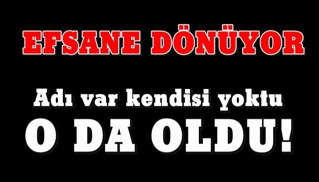 YERİNE GERİ DÖNÜYOR...