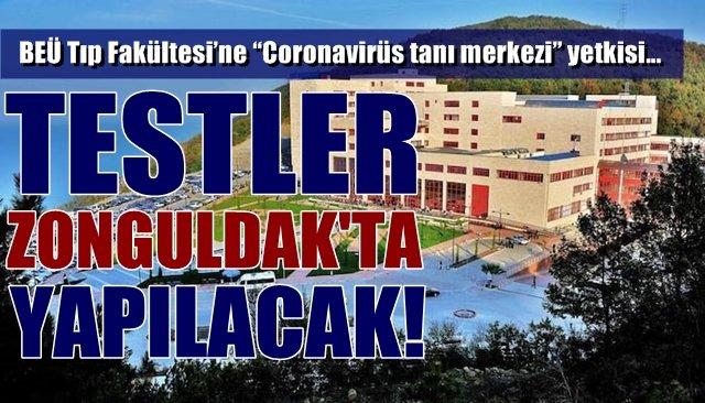 "BEÜ Tıp Fakültesi'ne ""Coronavirüs tanı merkezi"" yetkisi…"