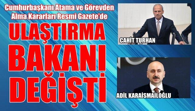 Cumhurbaşkanı Atama ve Görevden Alma Kararları Resmi Gazete'de