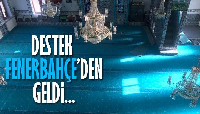 Fenerbahçe'den köy camisine yardım