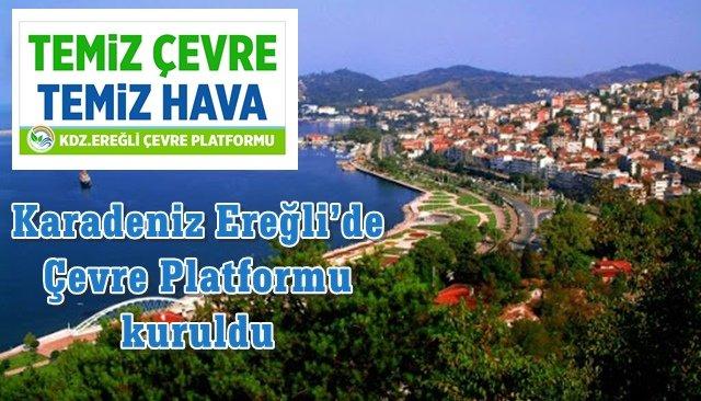 Karadeniz Ereğli'de Çevre Platformu kuruldu