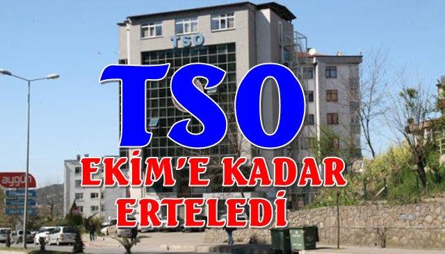 TSO, üyelik aidatlarını erteledi