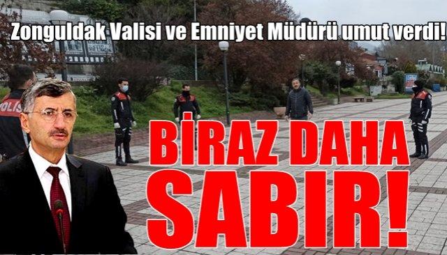 Zonguldak Valisi ve Emniyet Müdürü umut verdi!
