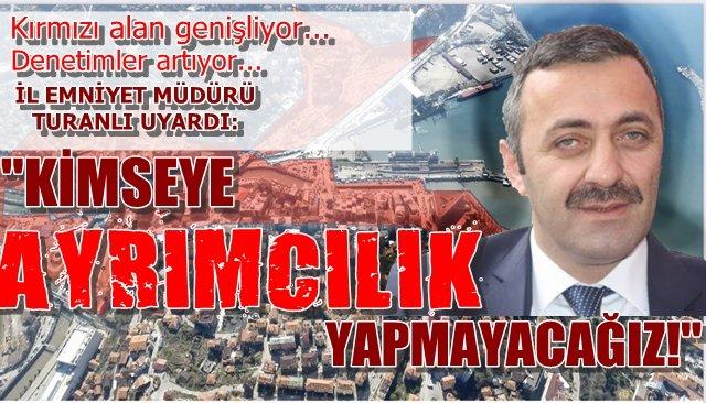 """""""KİMSEYE AYRIMCILIK YAPMAYACAĞIZ!"""""""