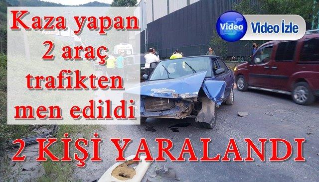 Bölücek yolunda kaza: 2 yaralı