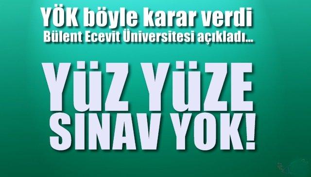 Bülent Ecevit Üniversitesi açıkladı… YÖK böyle karar verdi
