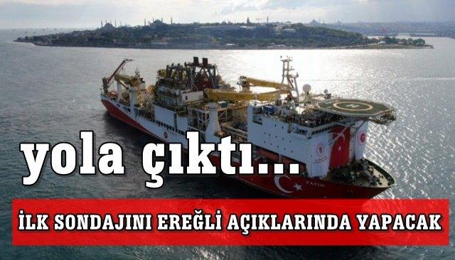 Fatih sondaj gemisi 15 Temmuzda Ereğli açıklarında sondaja başlayacak...