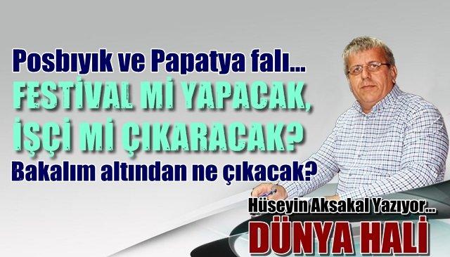 Posbıyık'ın papatya falı… FESTİVAL Mİ YAPACAK, İŞÇİ Mİ ÇIKARACAK ? Bakalım altından ne çıkacak?