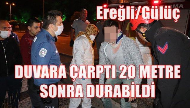 DUVARA ÇARPTI 20 METRE SONRA DURABİLDİ