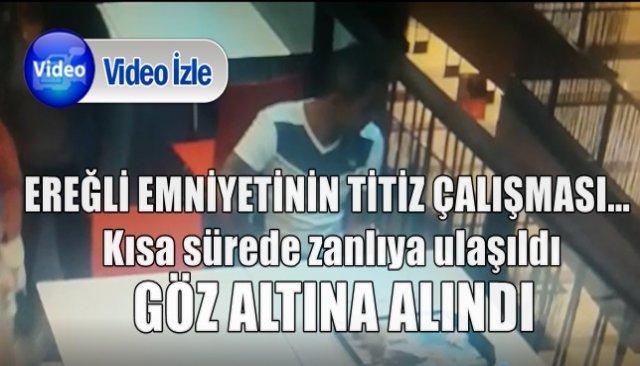 Ereğli Emniyeti iki ayrı telefon hırsızlığının failini yakaladı