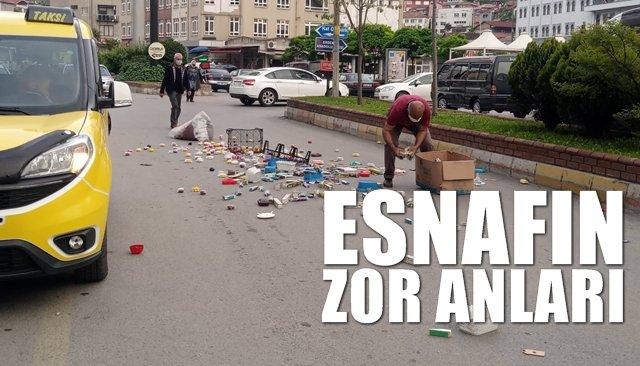 ESNAFIN ZOR ANLARI...